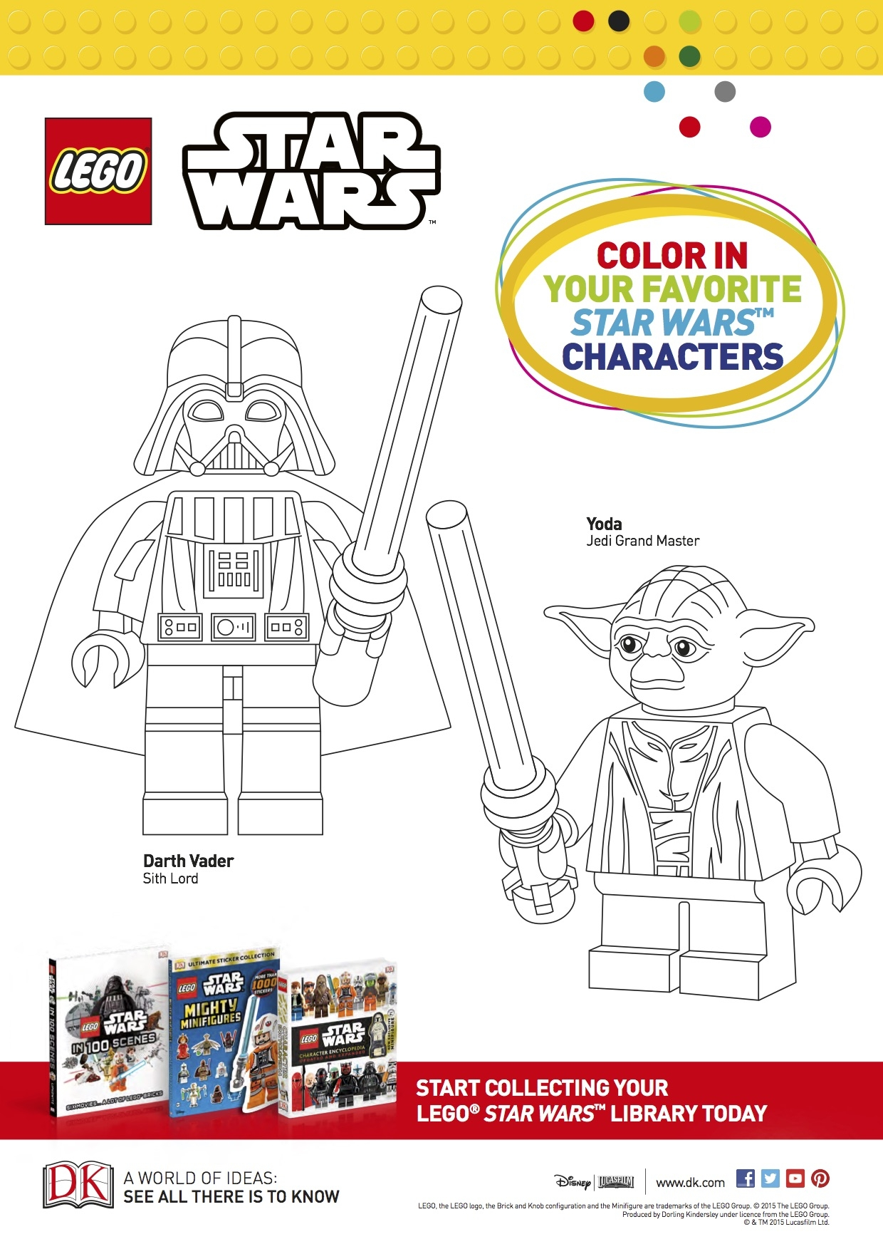 20 Darth Vader Coloring Pages Selection | FREE COLORING PAGES - Part 2