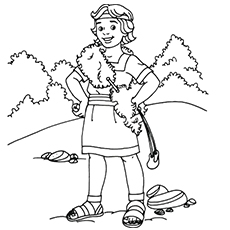 David and Goliath Coloring Page - top 25 David and Goliath Coloring Pages for Your Little Es