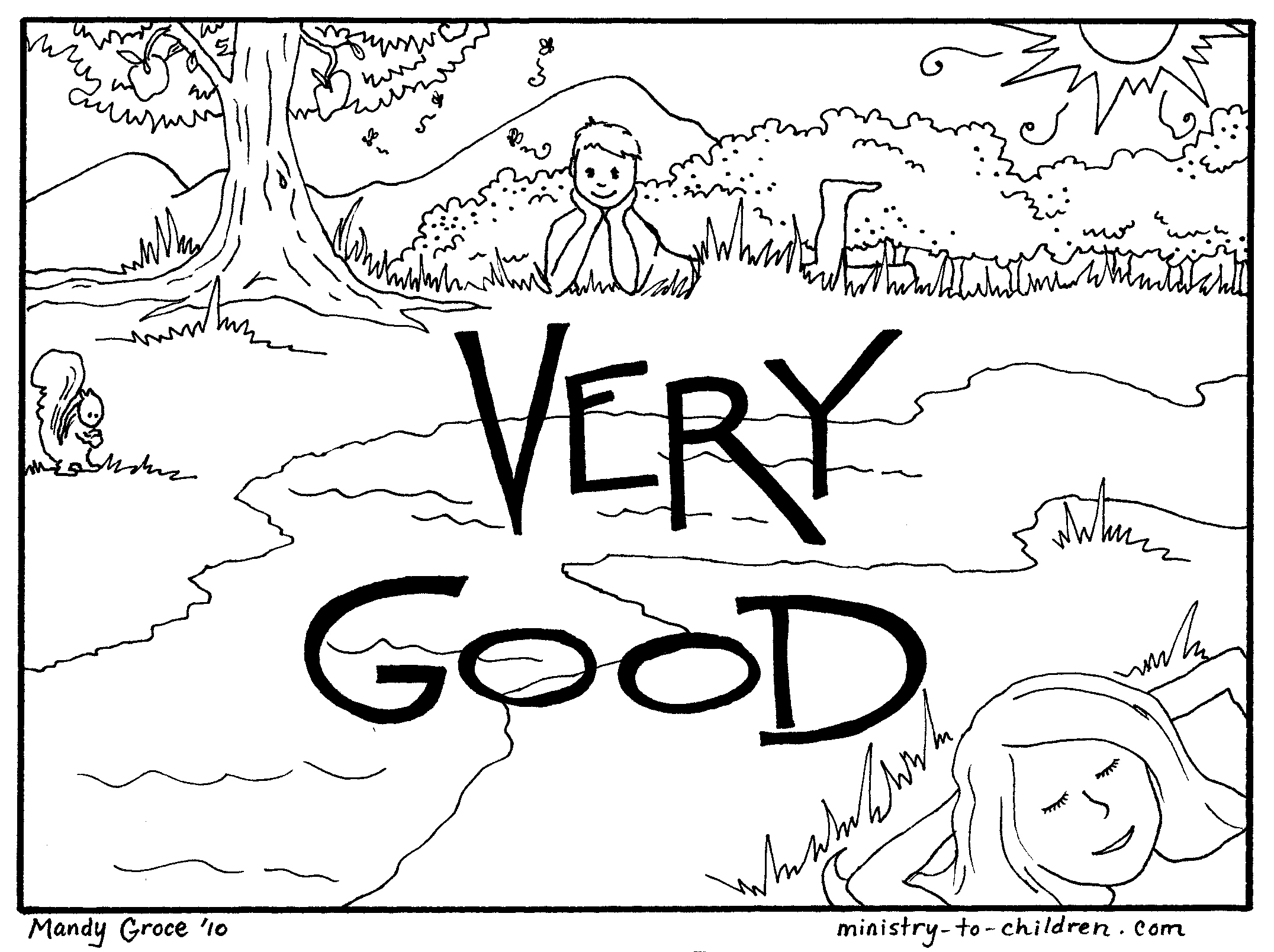 days of creation coloring pages 7 days of creation coloring pages - Days Of Creation Coloring Pages