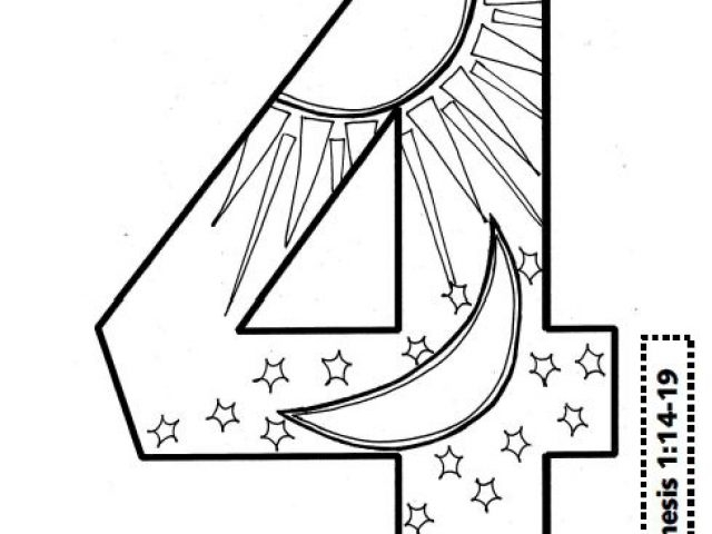 23 Days Of Creation Coloring Pages Pictures | FREE COLORING PAGES ...