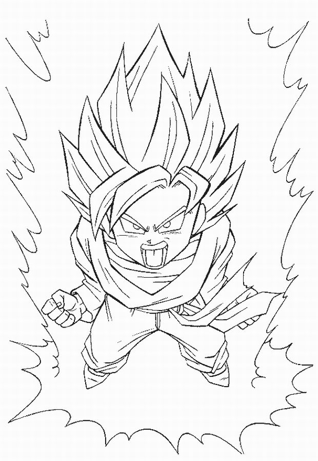 20 Dbz Coloring Pages Compilation | FREE COLORING PAGES - Part 2