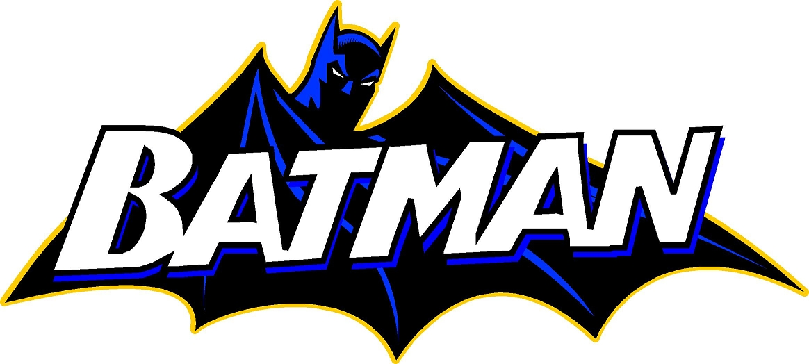 dc comics coloring pages - batman logo template