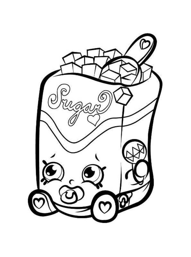 dc comics coloring pages - shopkins 5