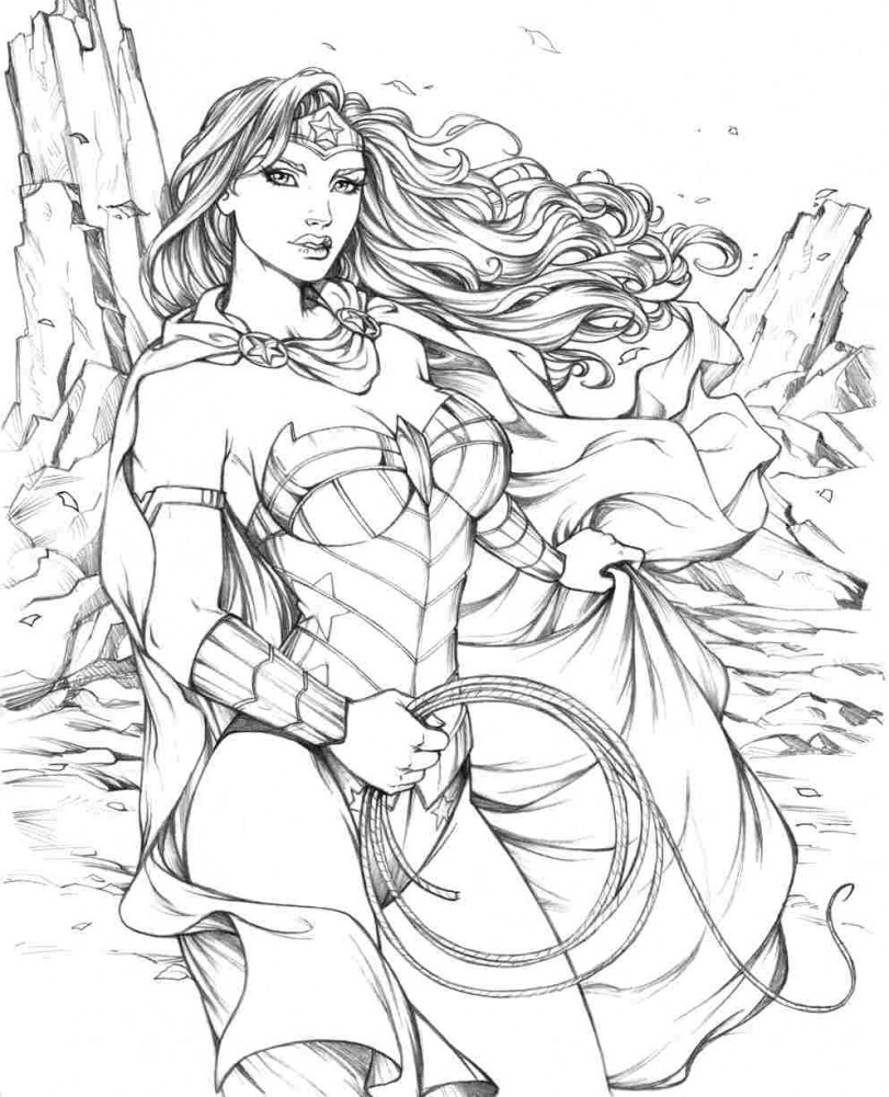dc superhero coloring pages - dc super hero girls coloring pages