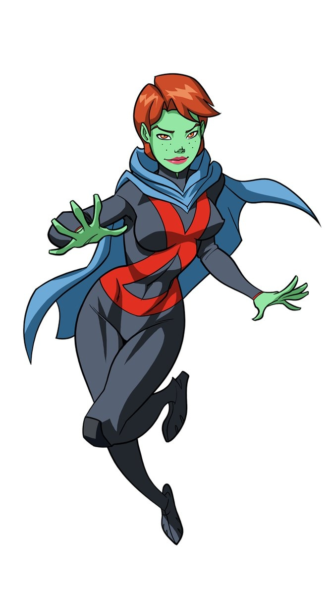 dc superhero girls coloring pages - YJS2 Miss Martian