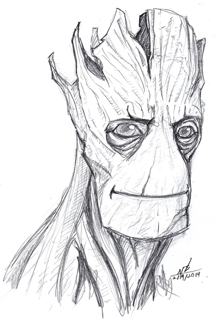 deadpool coloring pages - I CAN T STOP DRAWING GROOT AND I DON T WANT TO