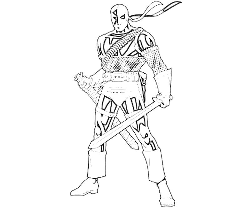 28 Deathstroke Coloring Pages Compilation Free Coloring Pages Part 2