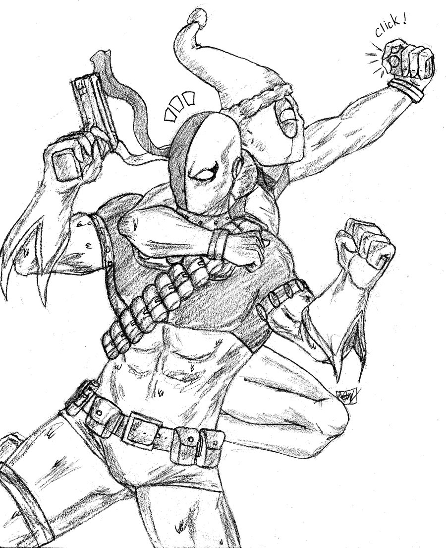 Deathstroke Coloring Pages - Lady Deathstroke Coloring Pages Coloring Pages