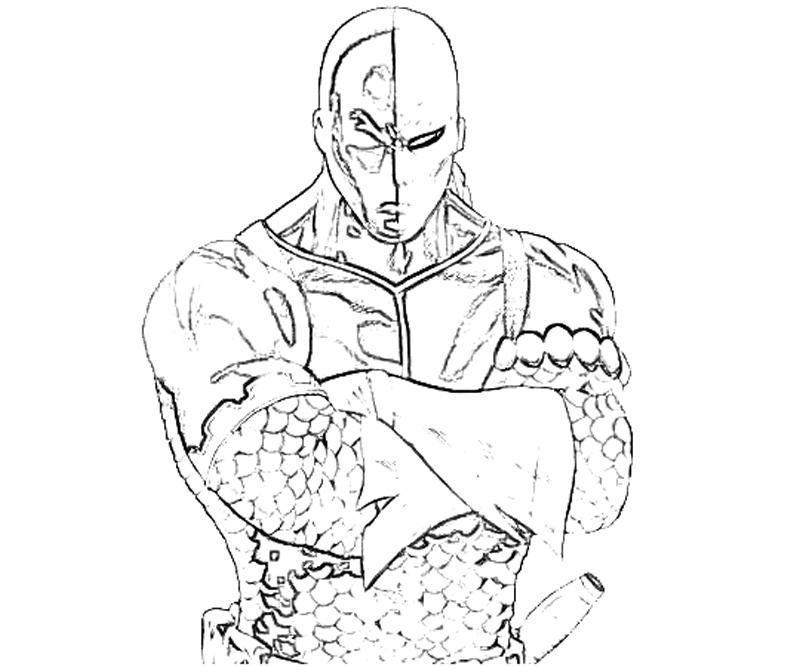 deathstroke coloring pages - lady stroke coloring pages sketch templates