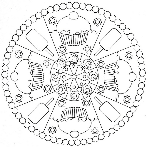 december coloring pages -