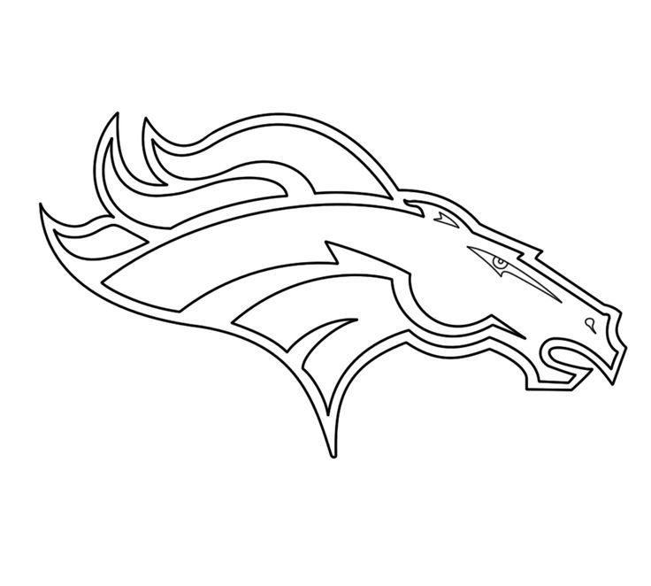 denver broncos coloring pages - denver broncos coloring pages