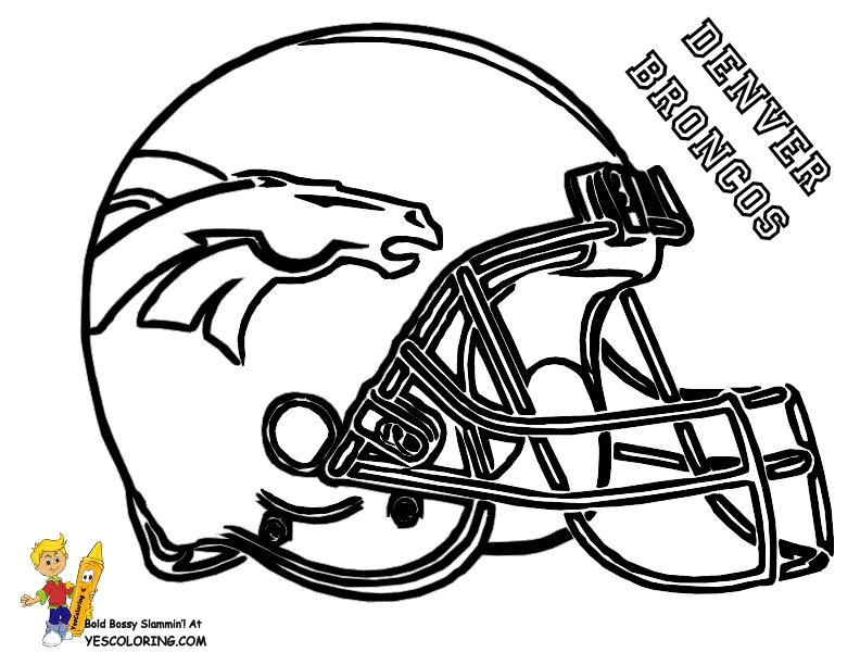 denver broncos coloring pages - peyton manning denver broncos coloring pages sketch templates