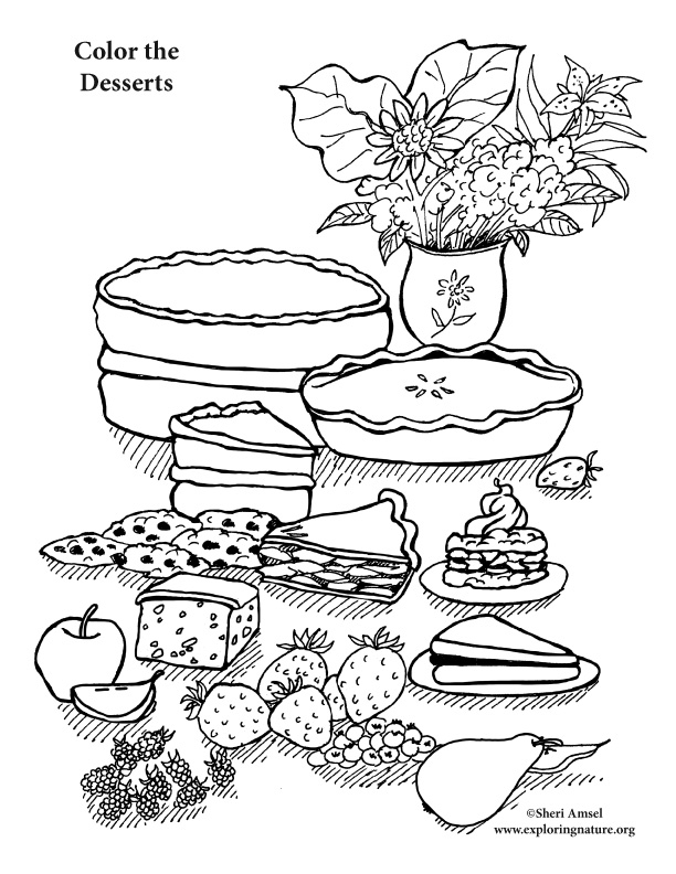 desert coloring pages - 4705