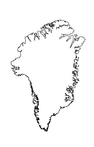 design coloring pages - greenland