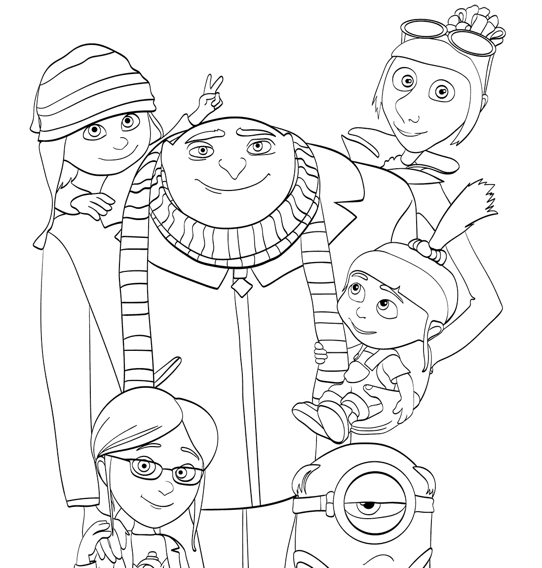 Despicable Me 3 Coloring Pages - Despicable Me 3 Coloring Pages to and Print for Free