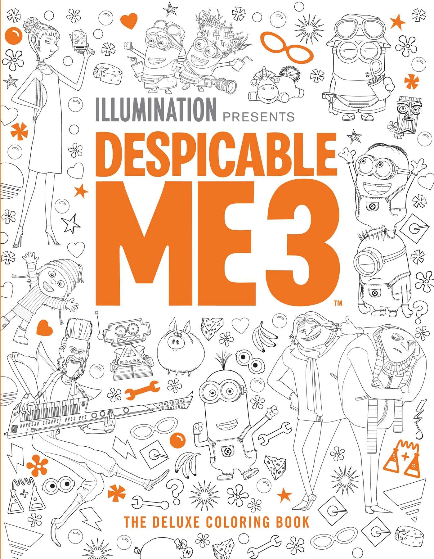 despicable me 3 coloring pages -