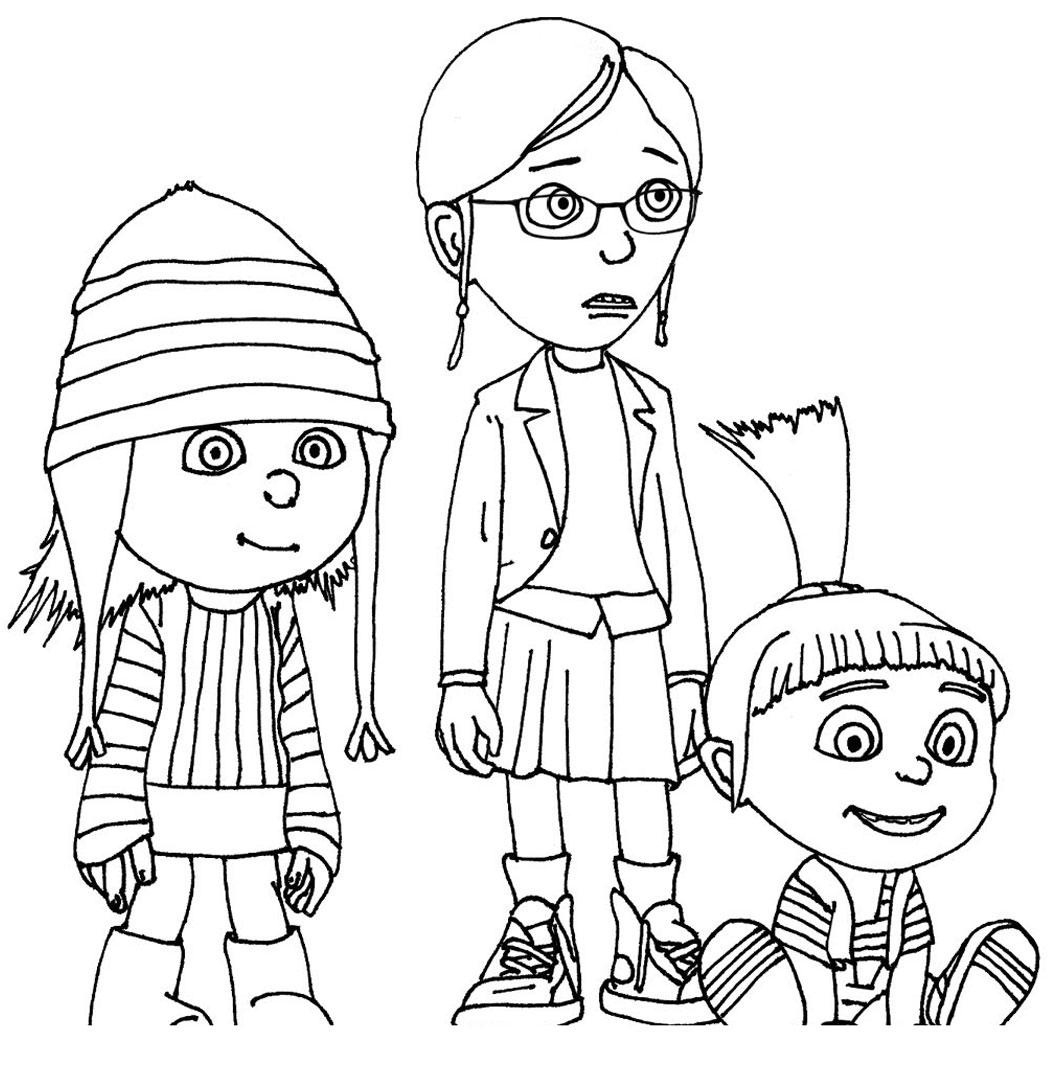 despicable me 3 coloring pages - despicable me coloring pages 3 3