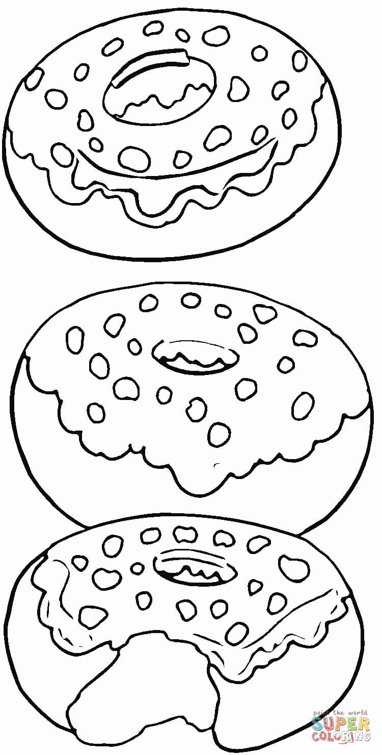 Dessert Coloring Pages - Coloring Pages for Kids Dessert Coloring Home