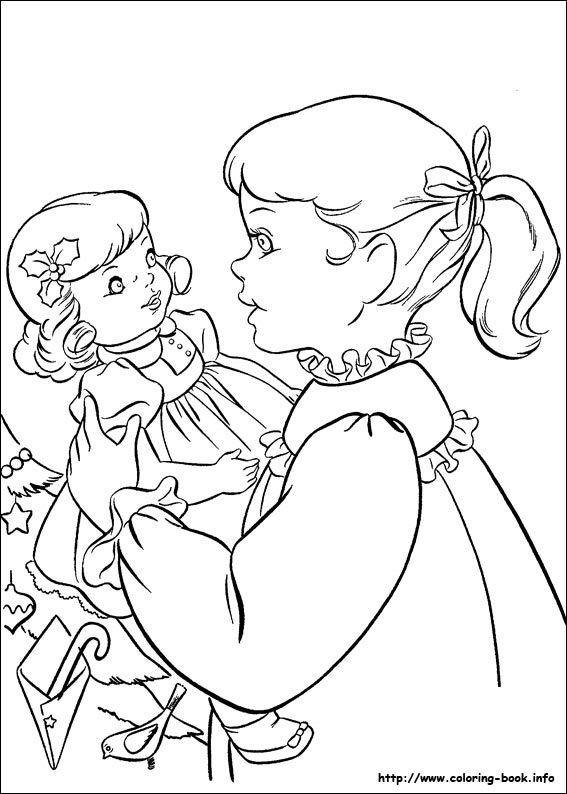 detailed coloring pages - christmas coloring pages more