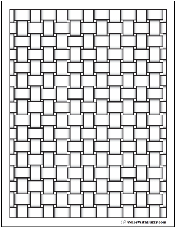detailed coloring pages - pattern coloring pages
