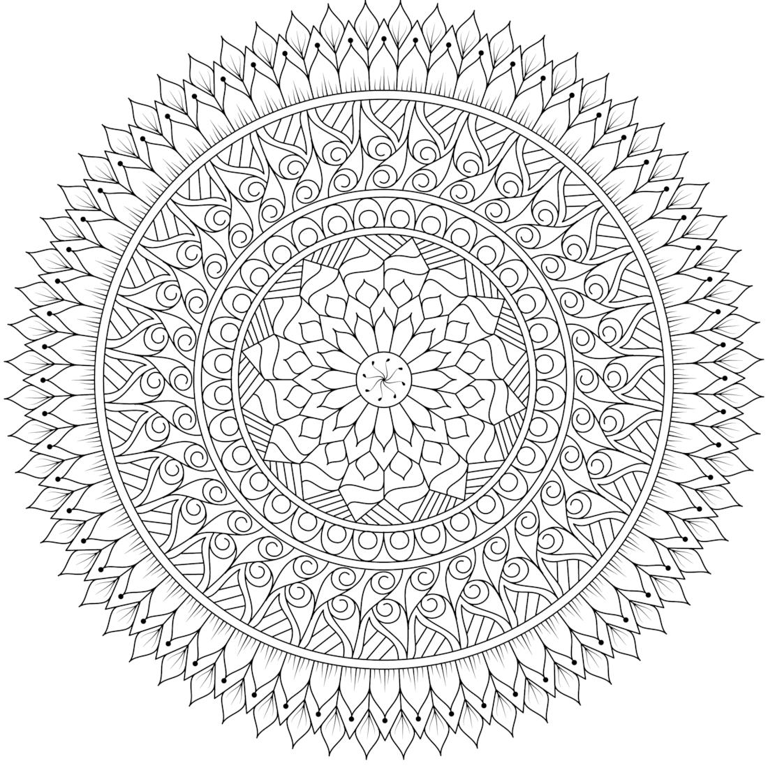 detailed coloring pages for adults - detailed coloring pages for adults