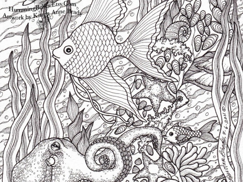 Detailed Coloring Pages for Adults - Detailed Coloring Pages for Adults Gianfreda