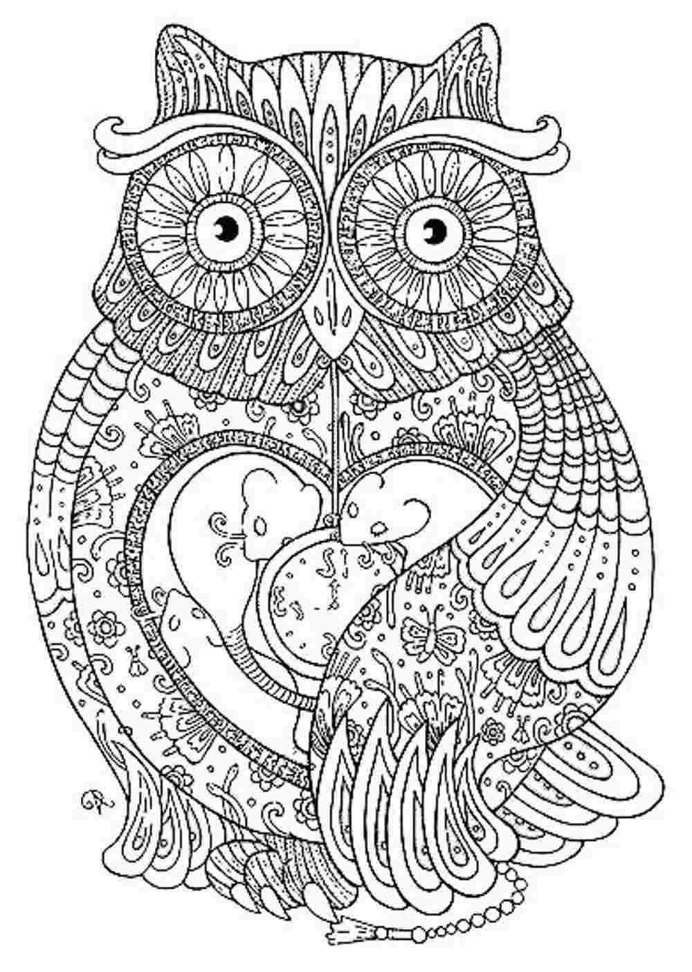 detailed coloring pages for adults - coloring pages 1365