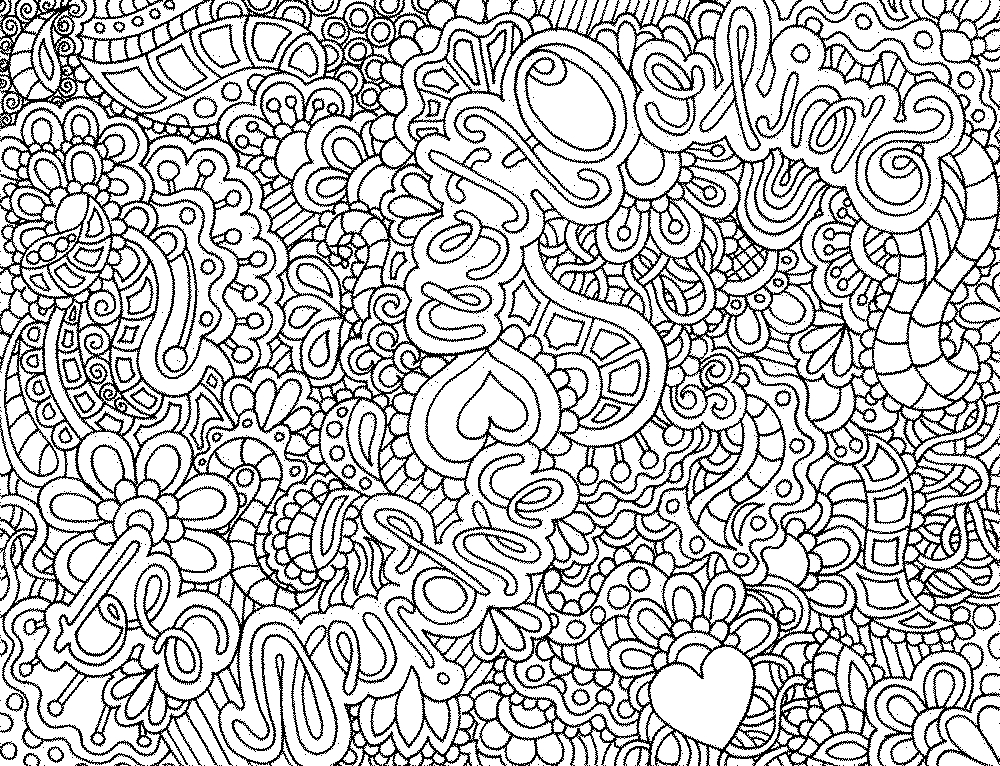 Detailed Coloring Pages for Adults - Detailed Coloring Pages for Adults Printable Kids