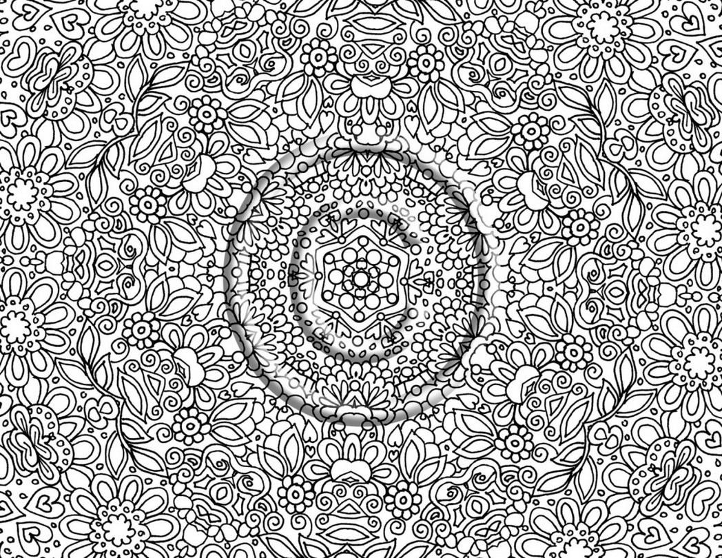 detailed coloring pages for adults - very detailed coloring pages for adults