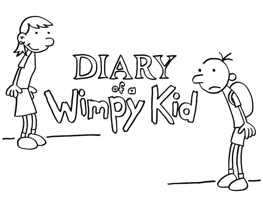 diary of a wimpy kid coloring pages - diary of a wimpy kid coloring pages