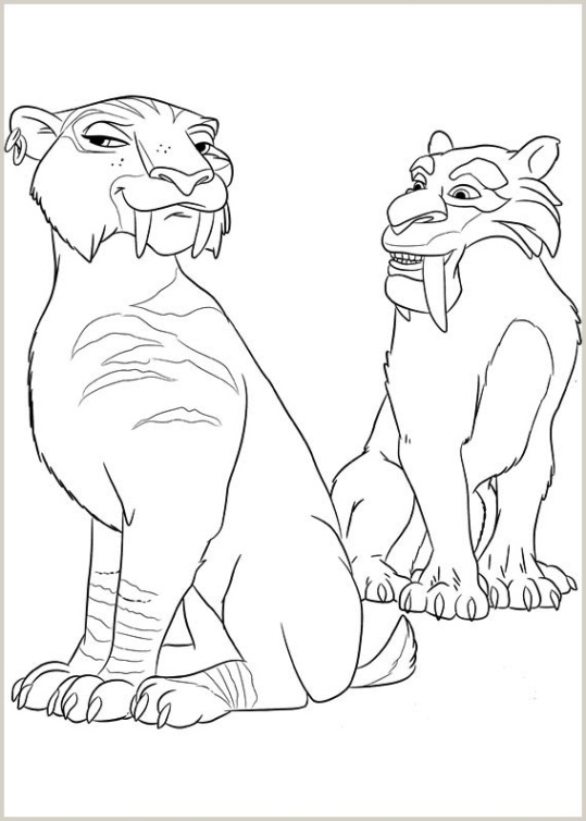 diego coloring pages - ice age 4 voll verschoben 9
