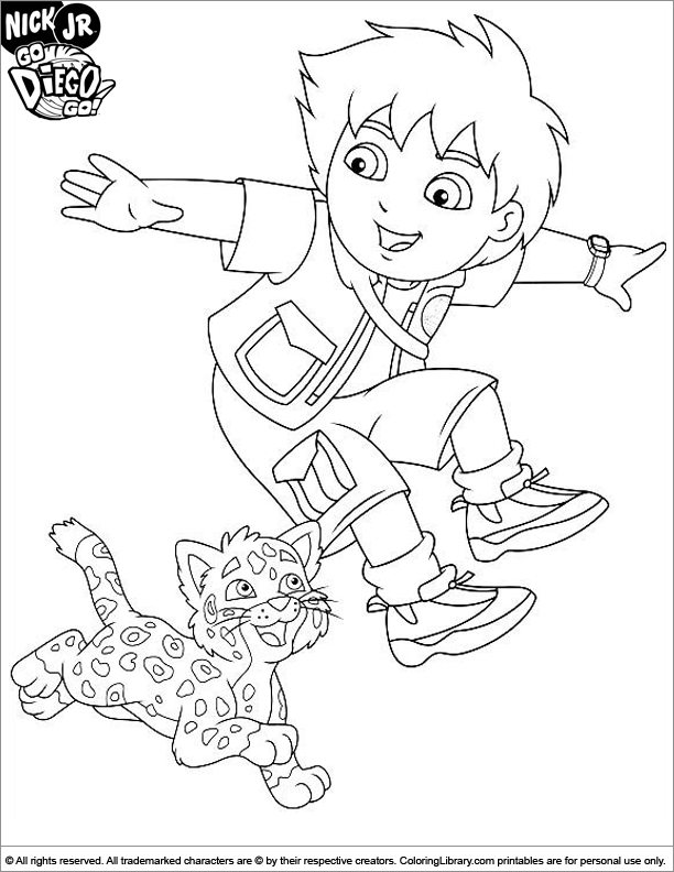 diego coloring pages - page 408