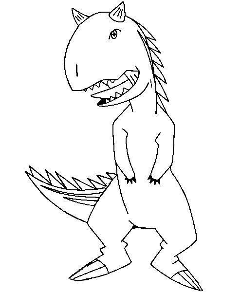 dinosaur king coloring pages - dinosaur king coloring pages