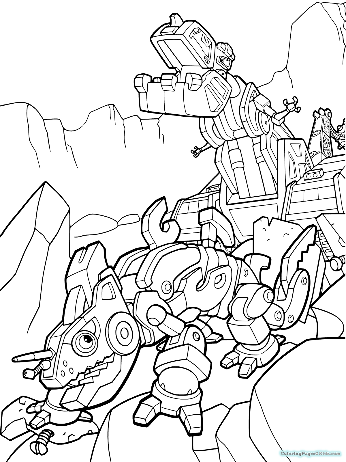 24 Dinotrux Coloring Pages Pictures | FREE COLORING PAGES - Part 2
