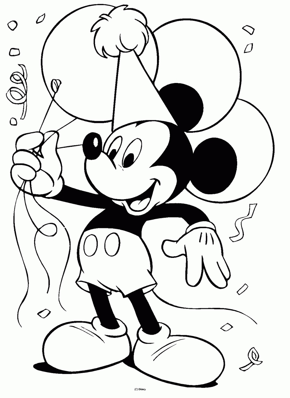 Disney Coloring Pages - Disney Coloring Pages
