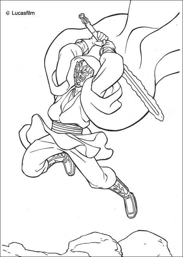 disney coloring pages for adults - star wars drawing book