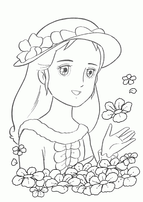 disney coloring pages frozen - prinses sara