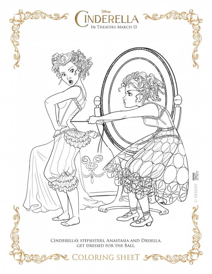 Disney Descendants Coloring Pages - Cinderella Coloring Pages Highlights Along the Way