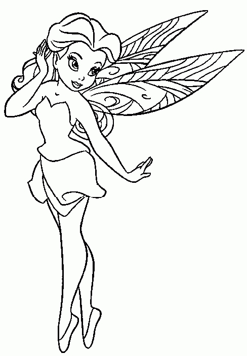 27 Disney Fairies Coloring Pages Collections FREE