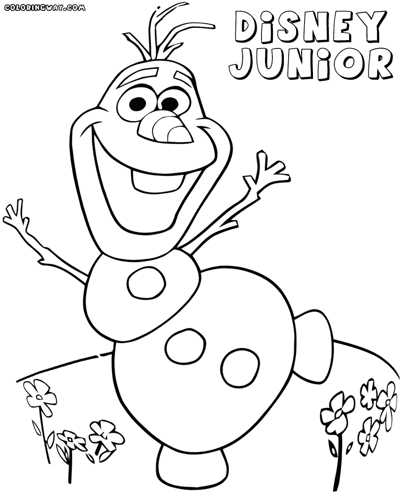 disney junior coloring pages - disney junior coloring pages