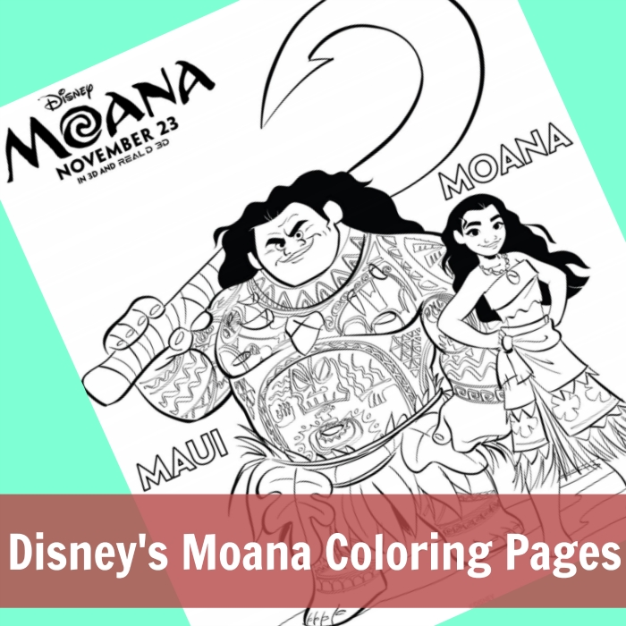 disney moana coloring pages - disneys moana coloring pages