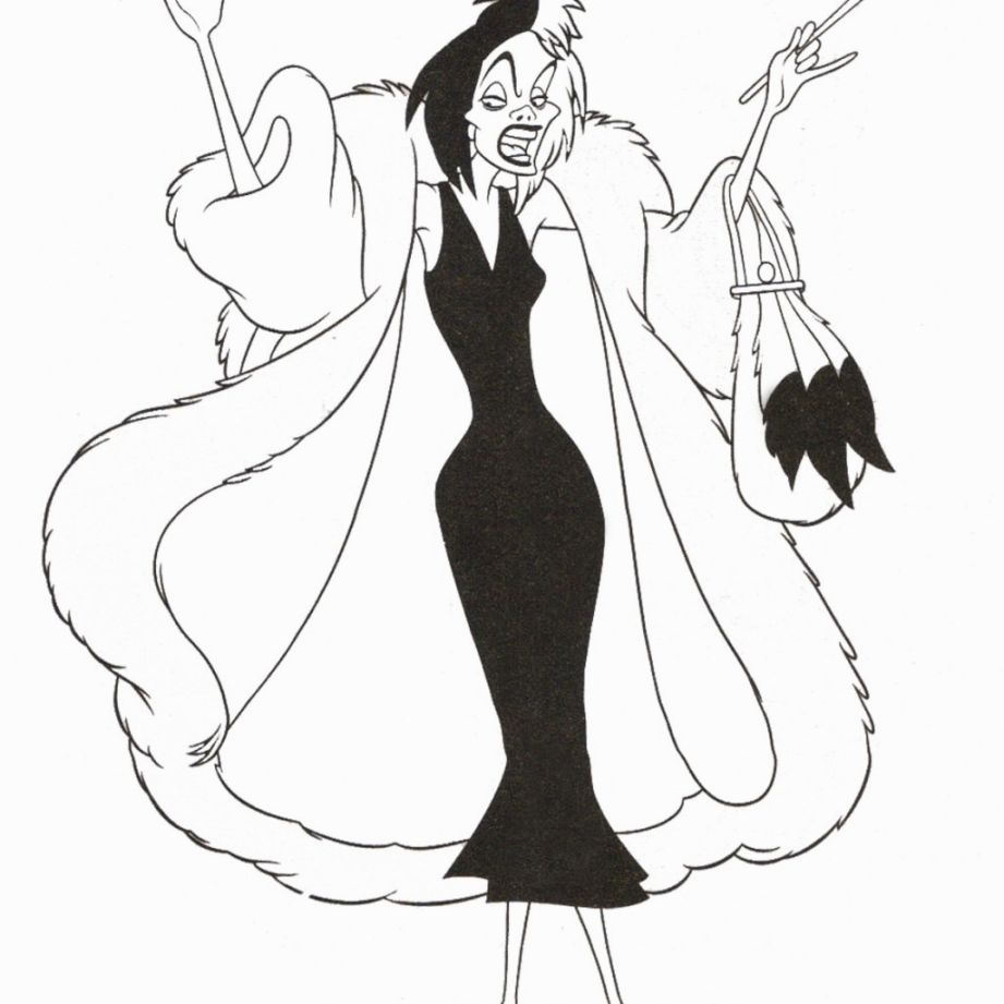Disney Villains Coloring Pages - Disney Villain Coloring Pages Coloring Pages