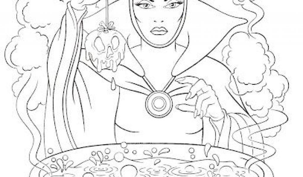 20 Disney Villains Coloring Pages Pictures | FREE COLORING PAGES ...