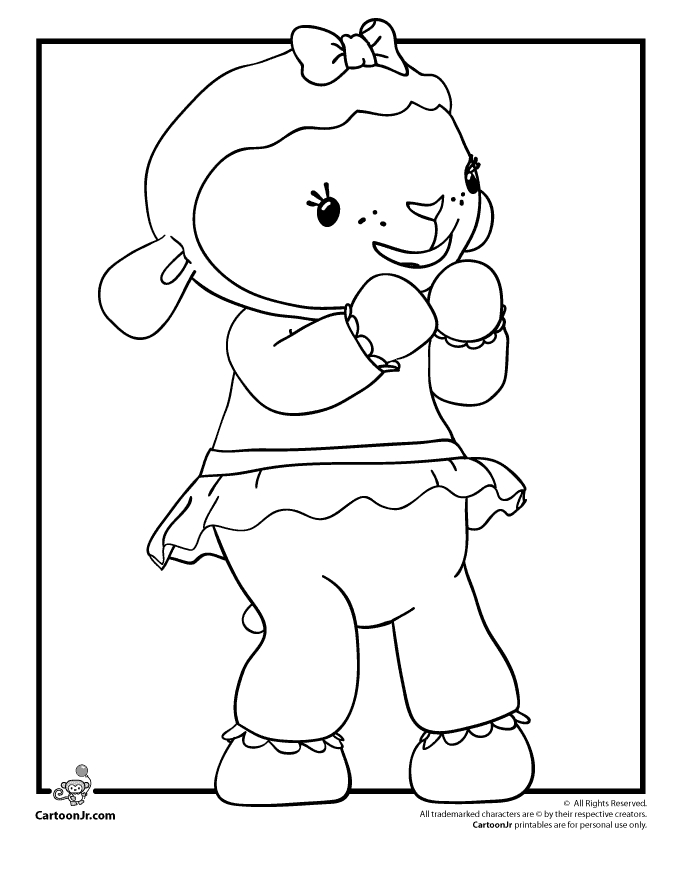20 Doc Mcstuffins Coloring Pages Selection | FREE COLORING PAGES ...