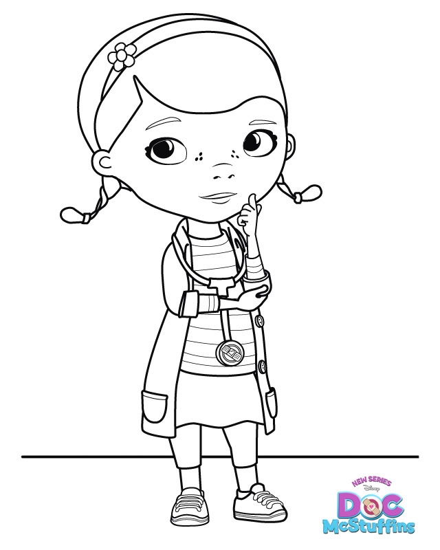 Doc Mcstuffins Coloring Pages - Doc Mcstuffins Doc S In Door Sign Big Book Boo Boos