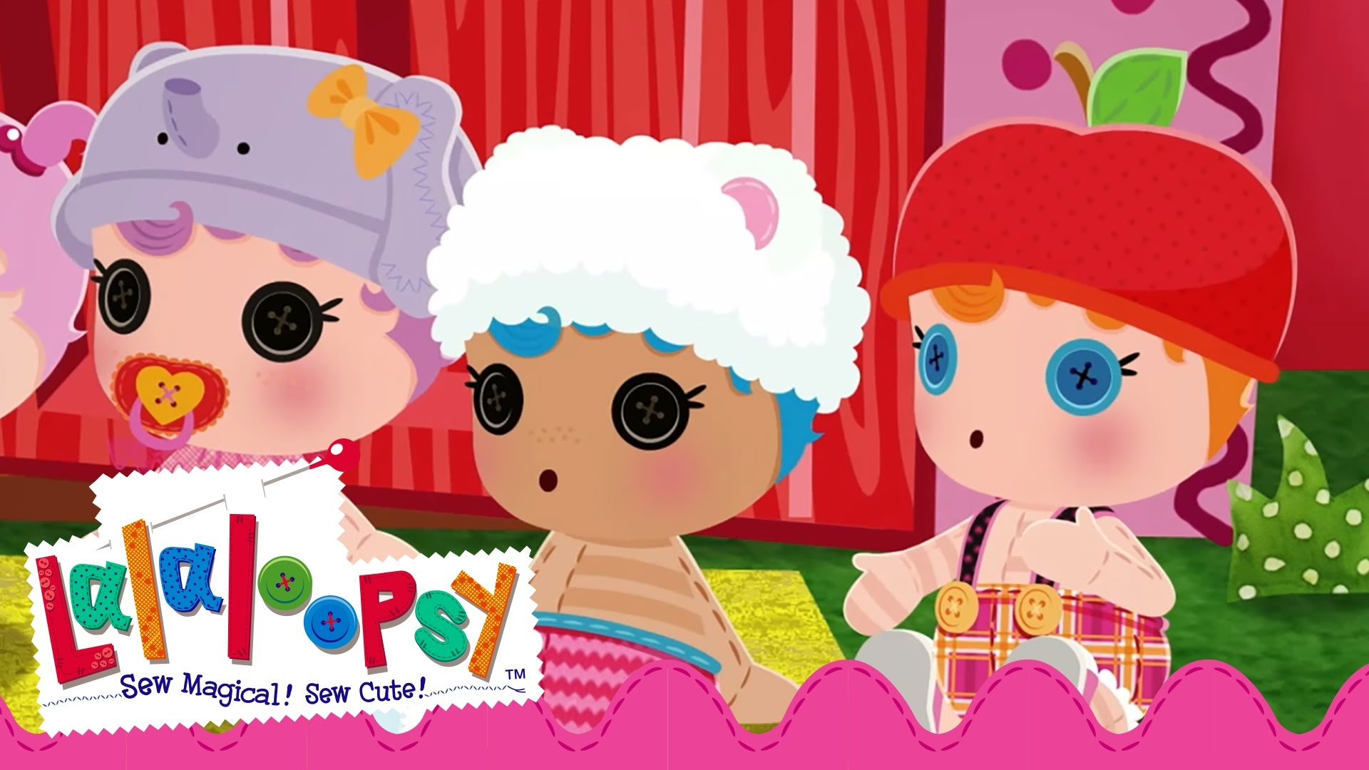 Doll Coloring Pages - Lalaloopsy Babies First Steps Dvd Trailer