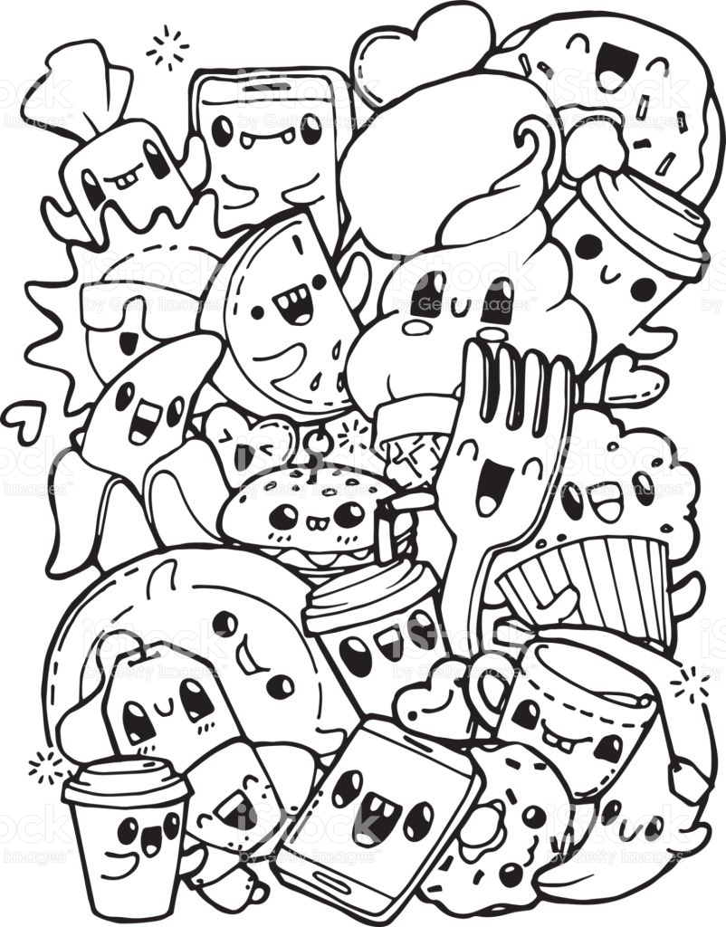 23 Donut Coloring Page Images Free Coloring Pages Part 2