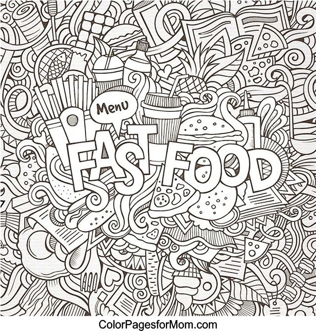doodle coloring pages - colorir doodles