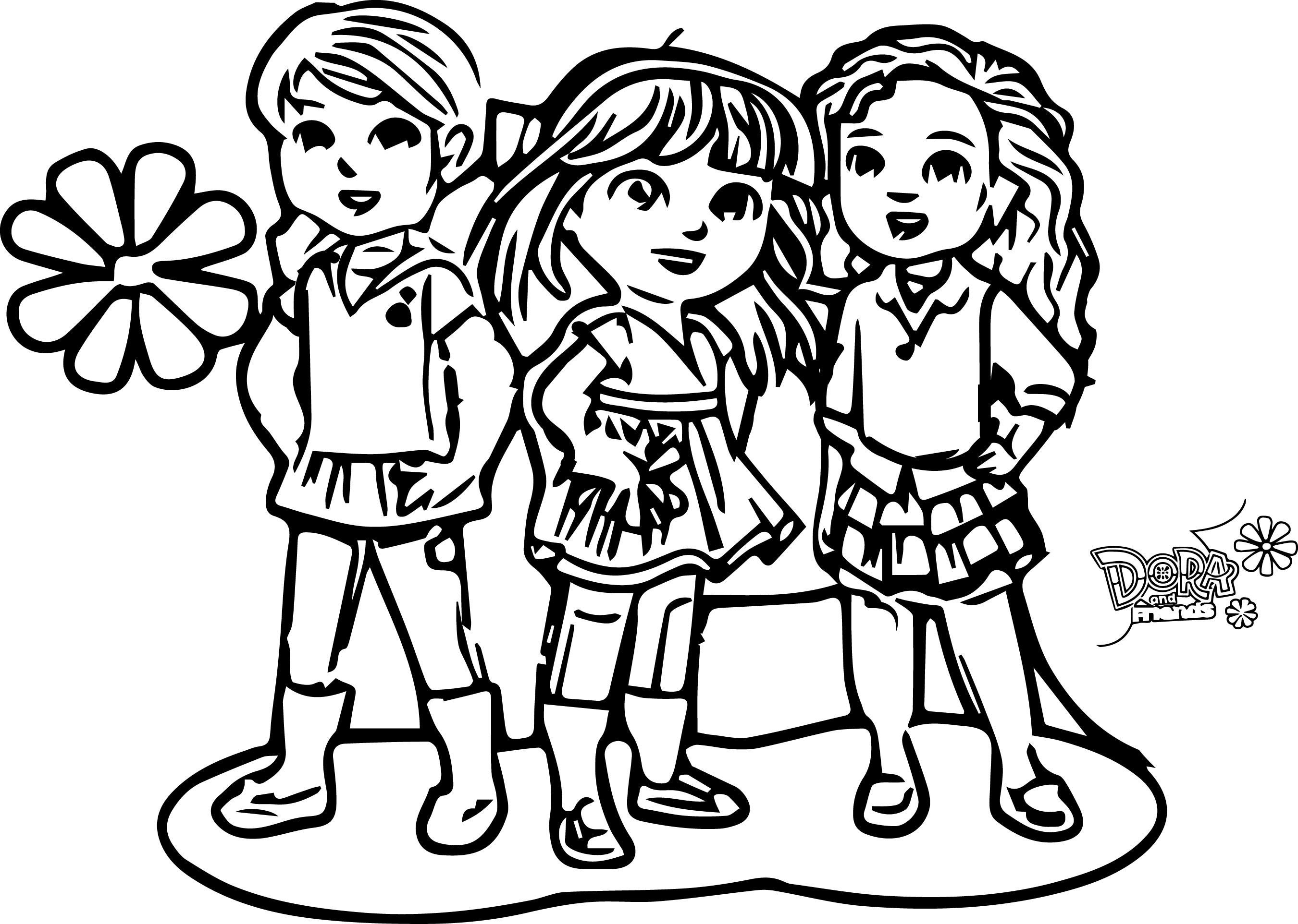20 Dora and Friends Coloring Pages Collections | FREE COLORING PAGES ...