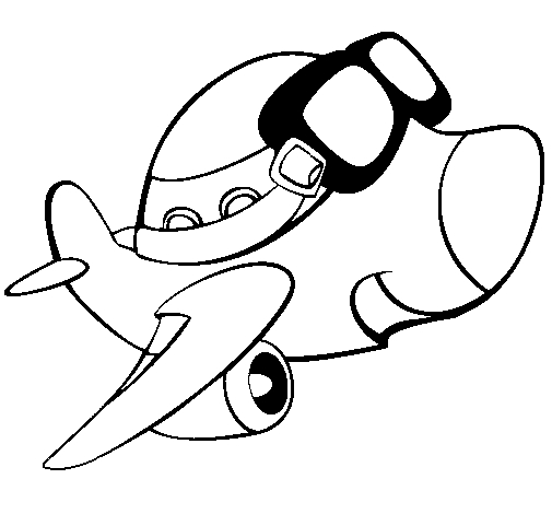 dora coloring pages - flugzeuge 30